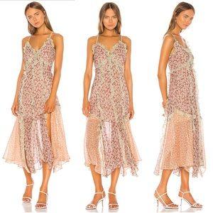 Rebecca Taylor Lucia Fleur Cami Tank Dress 2 NWT